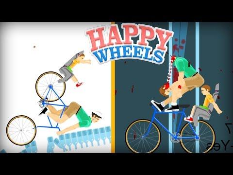 PAC VS MIKE - HAPPY WHEELS!