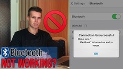 HOW TO FIX BLUETOOTH AND PAIRING PROBLEMS IN IOS!