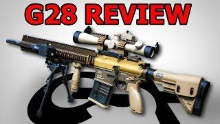 HK G28 Airsoft Review - VFC G28 SAEG Test GSPAirsoft german / deutsch