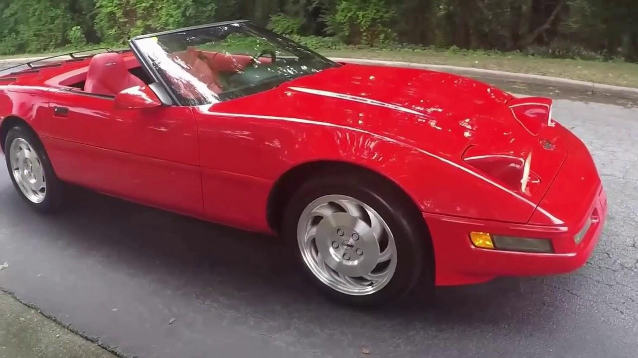 1996 Corvette Convertible For