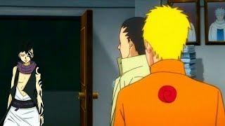 Появление Каваки в конохе в аниме Боруто