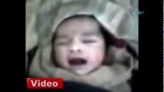 Suriye'de Doğan Bebeğin İlk Sözcüğü 'Allah' Oldu