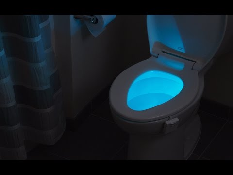 Does your toilet glow?