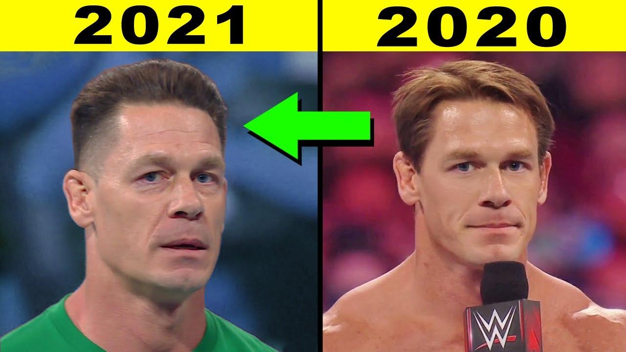 5 SADDEST WWE Transformations 2021 - John Cena New Look 2021