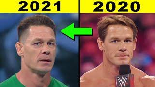 5 SADDEST WWE Transformations 2021 John Cena New Look 2021