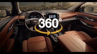 2018 Chevrolet Traverse 360° Interior Features | Taylor Chevrolet of Hermitage, PA