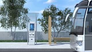 polytouch® 24 rock - The flexible kiosk for outdoor use