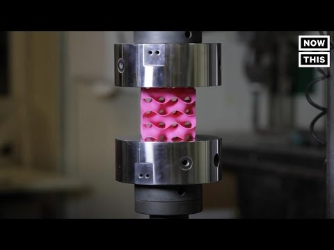 This 3D Printed Material Is 10x Stronger Than Steel   NowThis