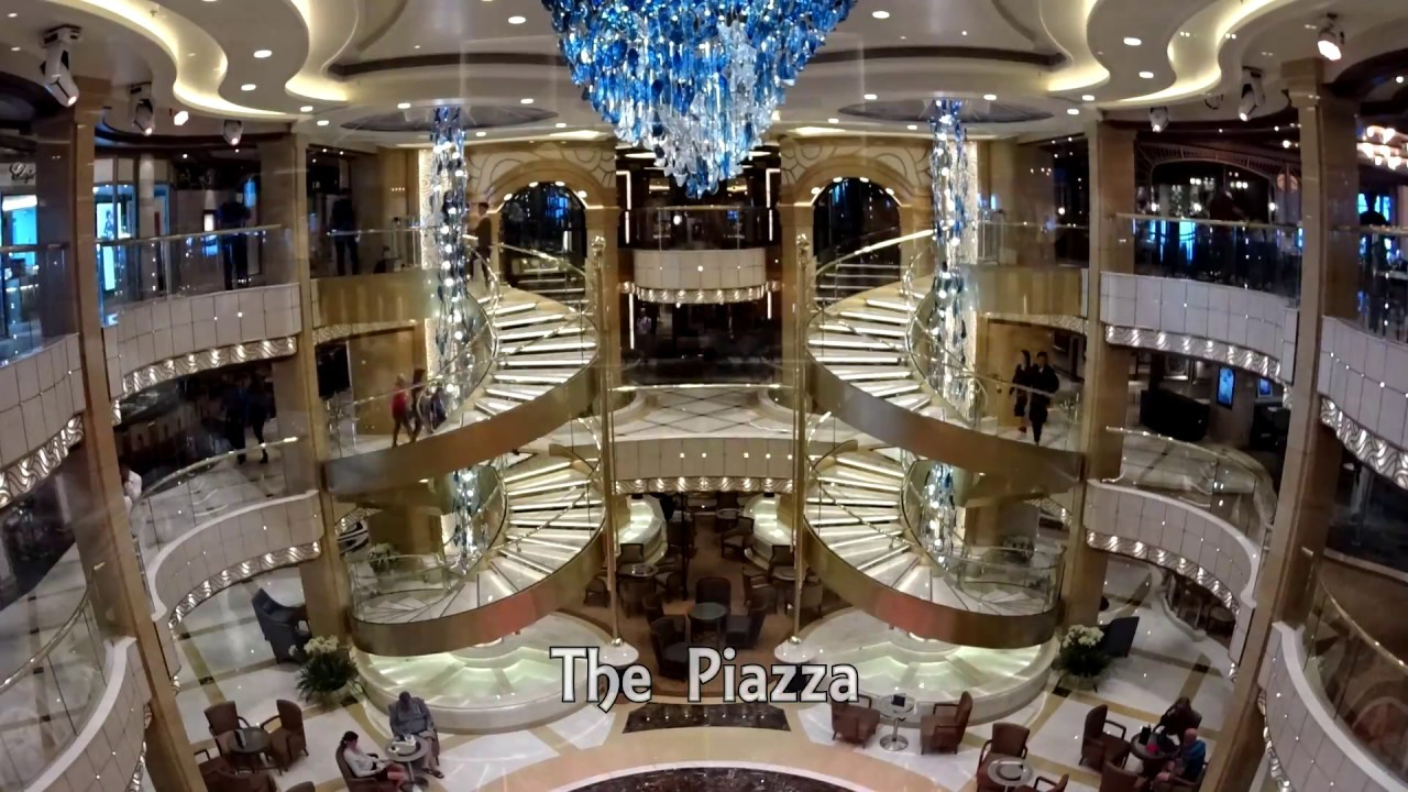 Majestic Princess Maiden Cruise Timelapse 2017 盛世公主号