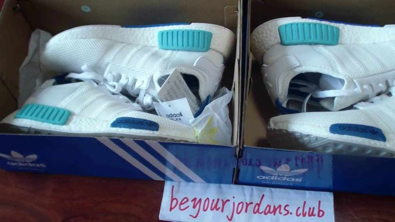 5219bba5824 Adidas NMD R1 S75235 White Sky Blue WMNS from Beyourjordans.club