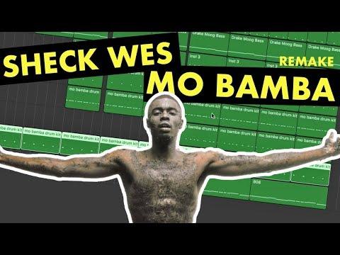 Making a Beat: Sheck Wes - Mo Bamba (IAMM Remake)