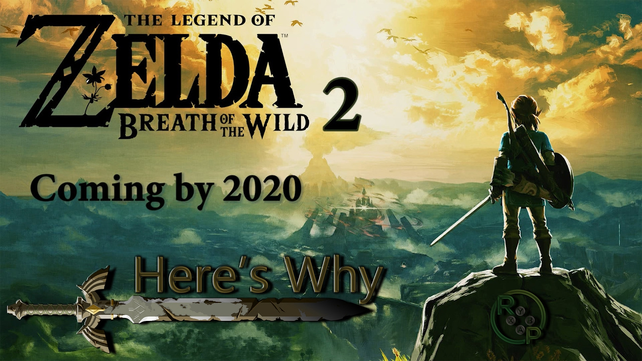 Zelda Breath Of The Wild Sequel Arriving By 2020