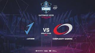 J.Storm vs coL, ESL One Katowice, NA Qualifier, bo5, game 1 [Adekvat]