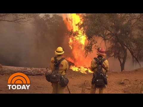Firefighters Battling California Wildfires Face Hardships Of Their Own | TODAY