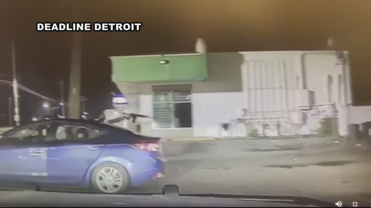 Detroit Police Officers Investigated For Fleeing A Drive-by Shooting