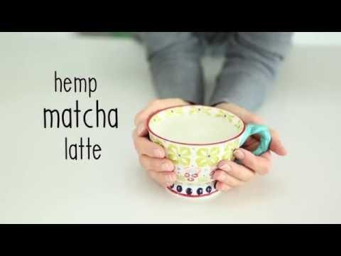 Hemp Matcha Latte   Nourishment Now