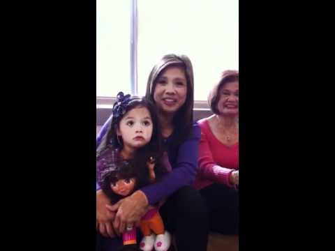 3TV's Gina Maravilla shares Mom advice - YouTube