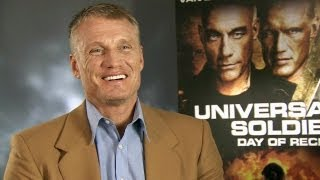 Dolph Lundgren on Expendables 3, Universal Soldier and musicals!