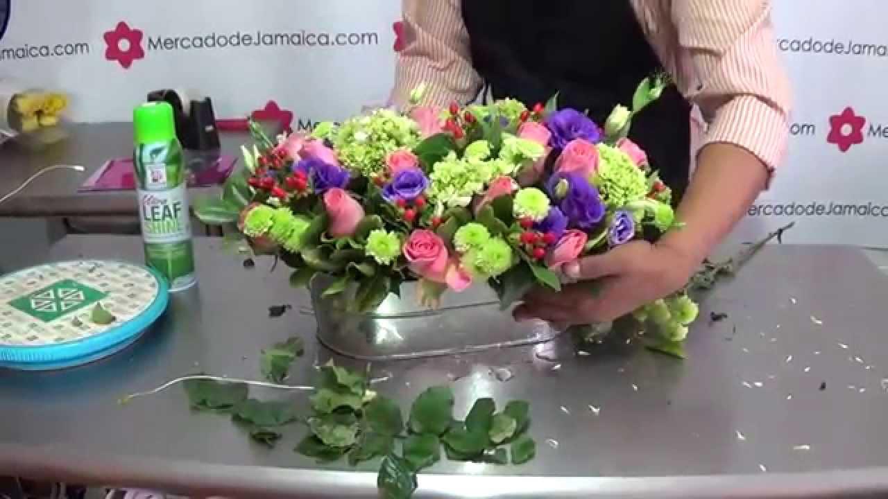 Regalo De Besos Rosas Con Hortensias
