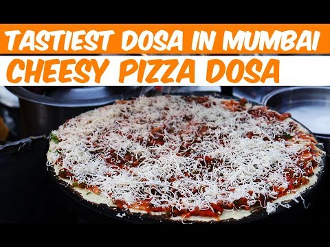 Thumbnail: Tastiest Cheesy Pizza Dosa In Mumbai - Indian Street Food - Street Food In Mumbai
