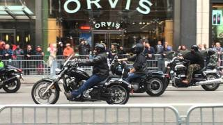 Veterans Day parade up Fifth Ave., NYC 11/11/2015