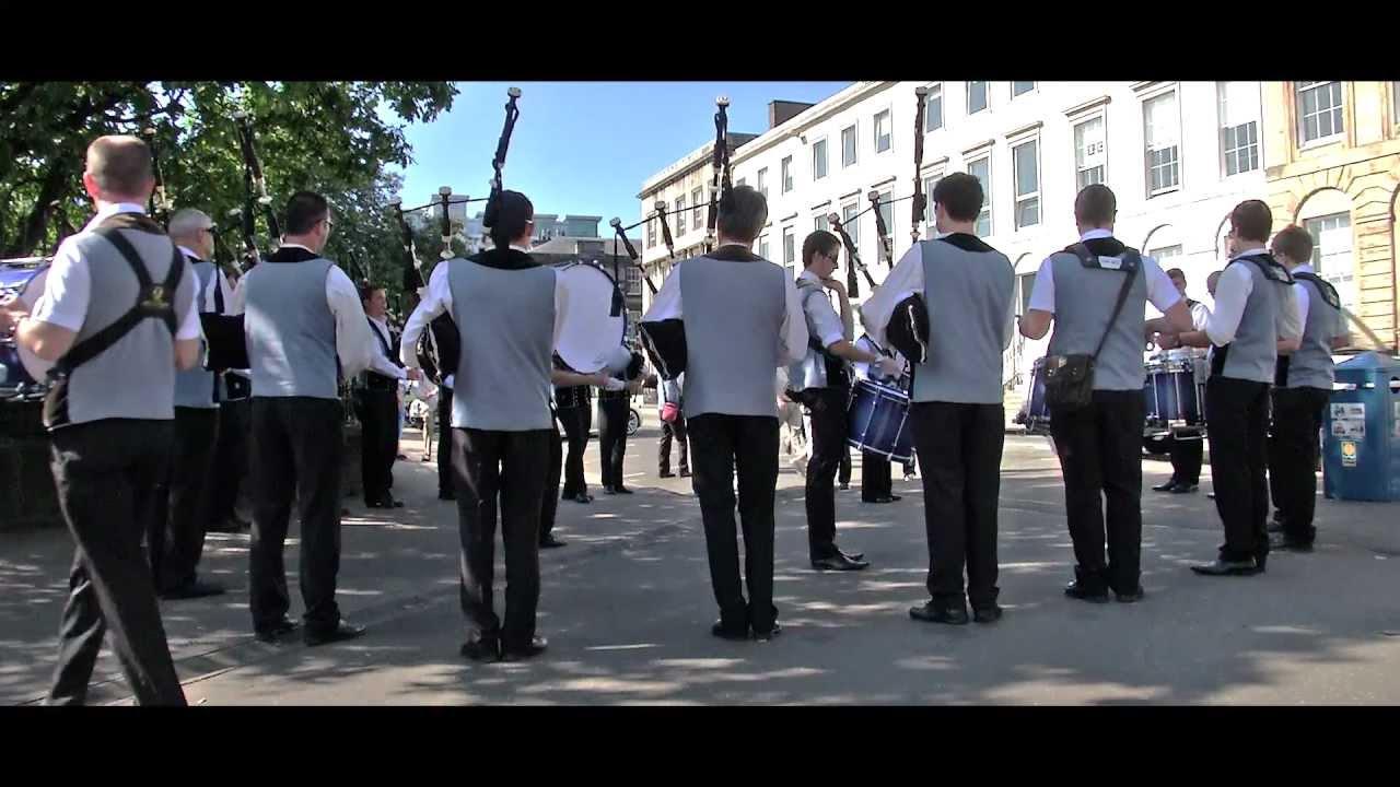 Breton Pipe Bands in Glasgow