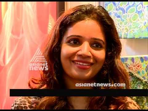 Bindhi Rajagopal's painting exhibition at Indian art festival