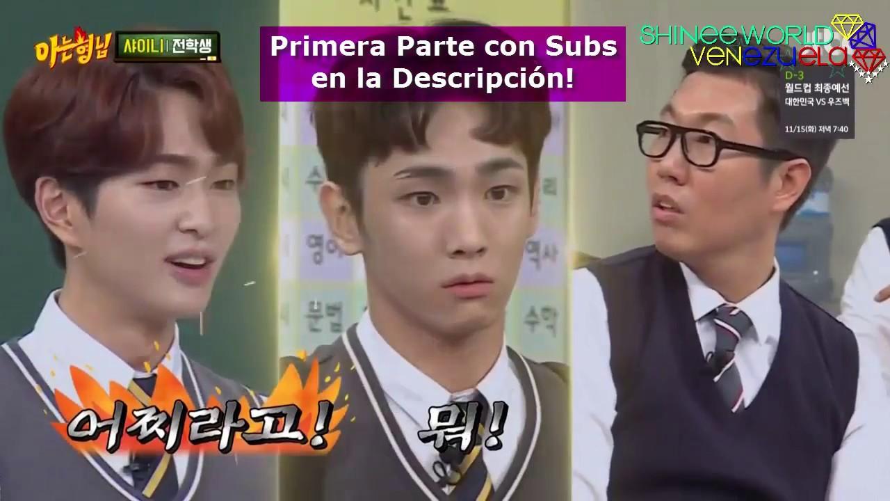 [Sub Español] SHINee @ Knowing Brothers [Parte 1/2]