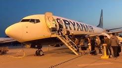 RYANAIR Early Morning Flight to Berlin | HELSINKI TRIP PART1 | TRIP REPORT & FLIGHT REVIEW