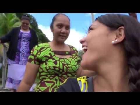 First time to Aunu'u, American Samoa