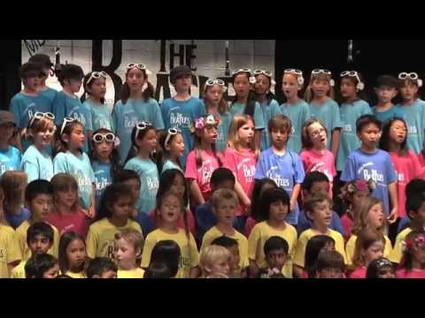 "2014 Mission Bay Montessori Academy Spring Sing: ""The Beatles"" Highlights"