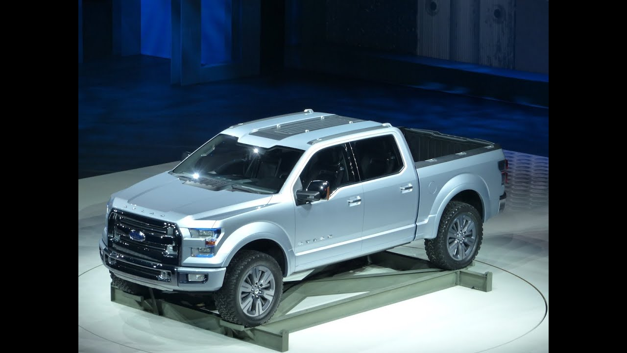Watch the next Ford F150 Atlas Pickup Concept Debut at the Detroit