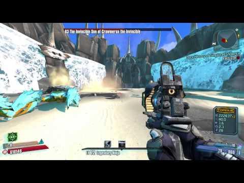 OP8 Crawmerax Melee Zer0 with 72 Gear - YouTube Borderlands 2 Is Uvhm Easy With Op8 Gear