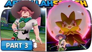 Pokemon Sword And Pokemon Shield - Part 3 Grass Gym Leader Milo Nintendo Switch