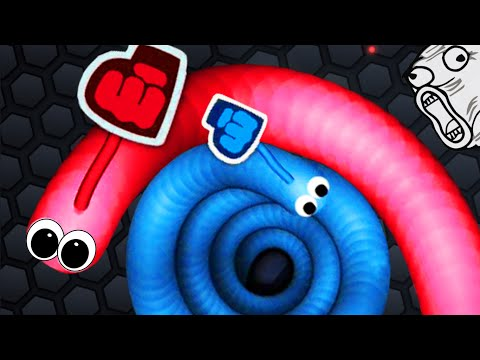 Slither.io - IMMORTAL GIANT SNAKE #3 // SLITHER.IO MULTIPLAYER (Slither.io Best Moments)