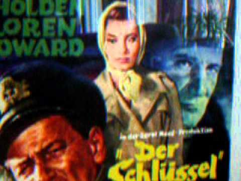 sophia loren movie poster the key 1958 youtube