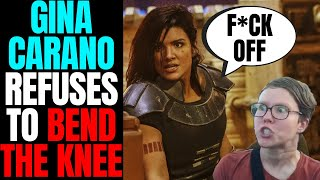 Gina Carano Refuses To Bend The Knee! | Woke Twitter Mob Attacks Star Wars Actress