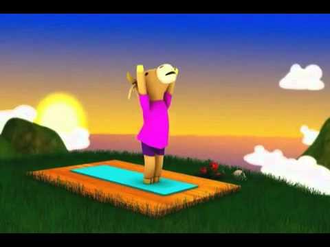 Pequeña Lección de Yoga para Niños
