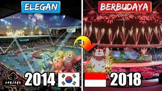 Download Video BIKIN MERINDING!!! Perbedaan Upacara Pembukaan Asian Games Indonesia 2018 dibandingka Korea 2014 MP3 3GP MP4