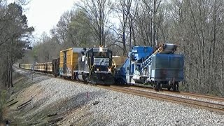 Busy Day on the Norfolk Southern Charlotte District! (3/18/20)