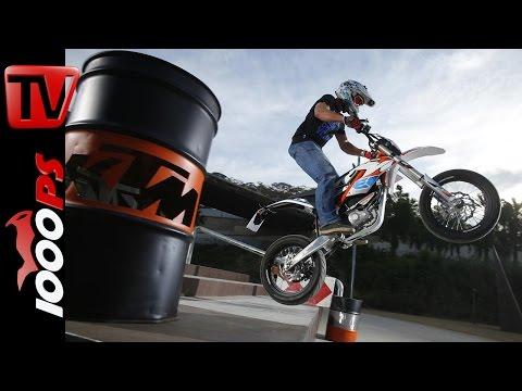 KTM Freeride E-SM Testfahrt | Action, Details, Infos