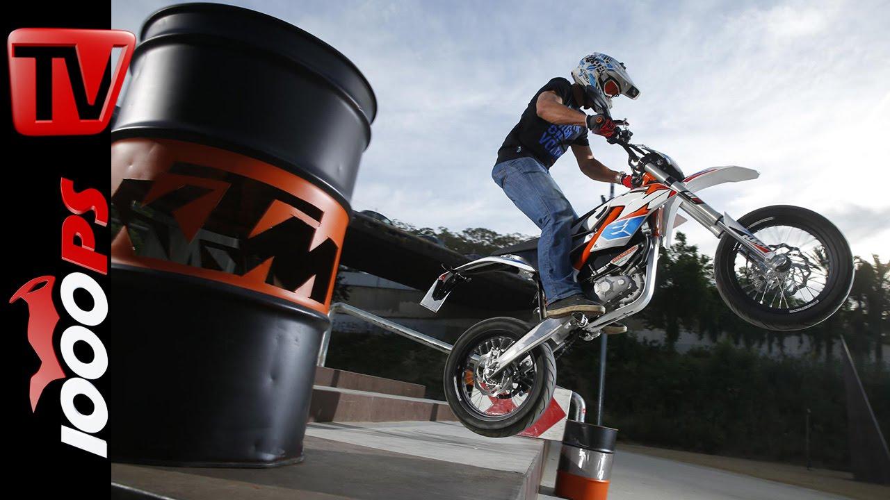 Ktm Freeride E Sm >> KTM Freeride E-SM Testfahrt | Action, Details, Infos - YouTube