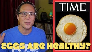 Time: Eggs Are Healthy! Cholesterol Good For Heart? DEBUNKED