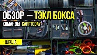 Карпфишинг TV :: Обзор Тэкл Бокса для карповой ловли команды Carptoday