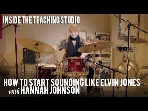 How to Sound Like Elvin Jones  Inside the Teaching Studio