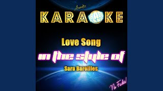 Chasing the Sun In the Style Sara Bareilles Karaoke