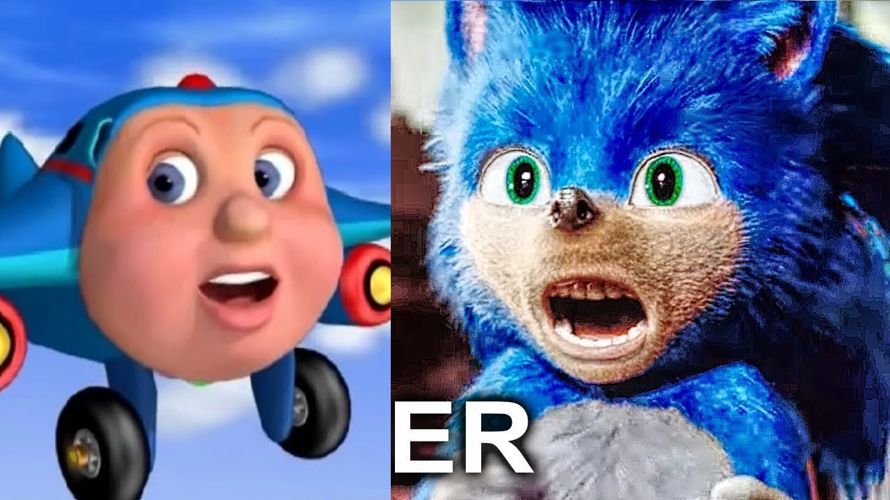 Fixing The Sonic Movie Trailer Sonic The Hedgehog Movie Memes Youtube