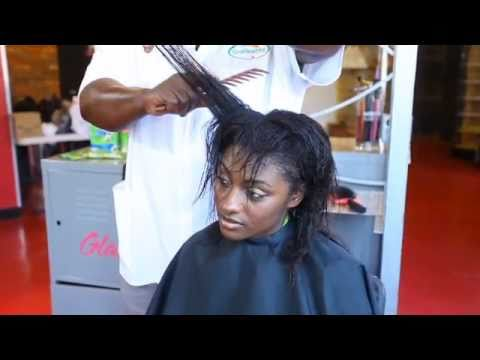 How To Repair Chemically Damaged Hair Relaxed Youtube