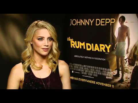 Amber Heard The Rum Diary interview