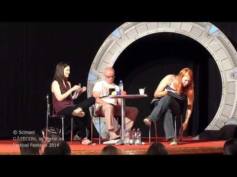 Gatecon 2014  Gary Jones a Jennifer Spence a restartu Stargate